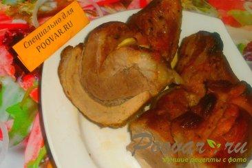 Грудинка свиная с томатным соусом в рукаве Изображение