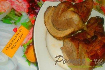 Грудинка свиная с томатным соусом в рукаве Шаг 8 (картинка)