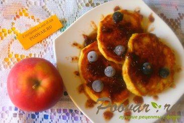 Оладьи с яблоками и финиками Шаг 11 (картинка)