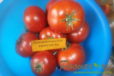 Огурцы и помидоры в кетчупе чили на зиму Шаг 2 (картинка)
