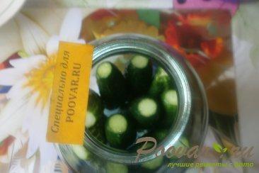 Огурцы и помидоры в кетчупе чили на зиму Шаг 4 (картинка)
