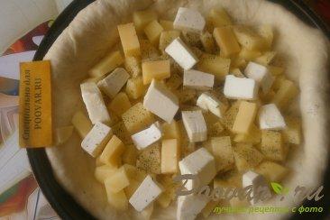 Пирог с картофелем и сыром Шаг 9 (картинка)