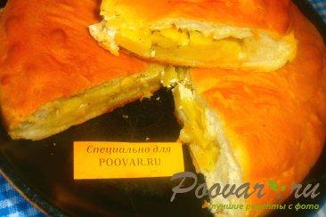 Пирог с картофелем и сыром Шаг 12 (картинка)