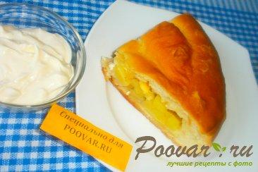 Пирог с картофелем и сыром Шаг 13 (картинка)