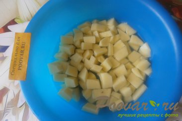Пирог с картофелем и сыром Шаг 7 (картинка)