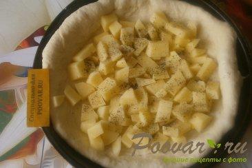 Пирог с картофелем и сыром Шаг 8 (картинка)