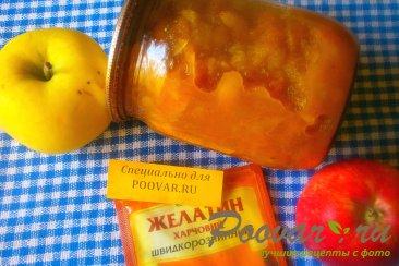Яблоки с желатином на зиму Изображение