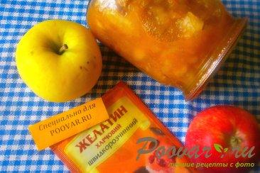 Яблоки с желатином на зиму Шаг 7 (картинка)