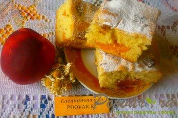 Шарлотка с нектарином и шоколадным печеньем Шаг 14 (картинка)