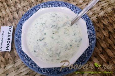 Холодный суп из йогурта Изображение