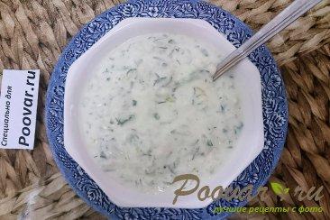 Холодный суп из йогурта Шаг 6 (картинка)