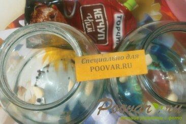 Огурцы с кетчупом и чесноком Шаг 2 (картинка)