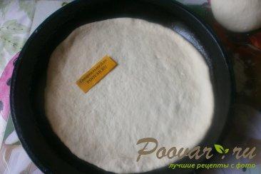 Пицца с грибами и сырами Шаг 9 (картинка)