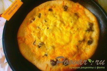Пицца с грибами и сырами Шаг 15 (картинка)