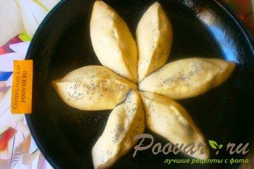 Пирог с грушами из дрожжевого теста Шаг 9 (картинка)