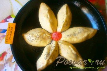 Пирог с грушами из дрожжевого теста Шаг 10 (картинка)