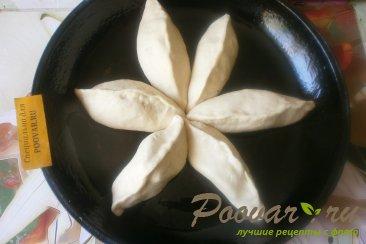 Пирог с грушами из дрожжевого теста Шаг 8 (картинка)