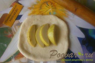 Пирог с грушами из дрожжевого теста Шаг 7 (картинка)
