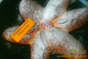 Пирог с грушами из дрожжевого теста Шаг 12 (картинка)