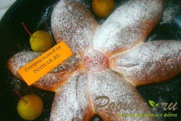 Пирог с грушами из дрожжевого теста Шаг 13 (картинка)