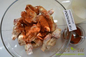 Куриные крылышки на сковороде Шаг 3 (картинка)