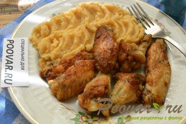 Куриные крылышки на сковороде Шаг 6 (картинка)