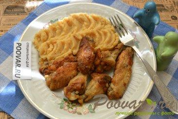 Куриные крылышки на сковороде Шаг 7 (картинка)