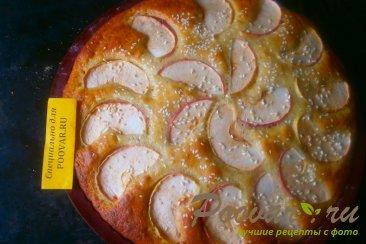 Манник на сметане с яблоками Шаг 9 (картинка)