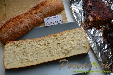 Сэндвич со свиными рёбрами и карамелизованным луком Шаг 15 (картинка)