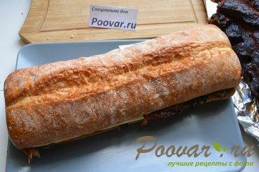 Сэндвич со свиными рёбрами и карамелизованным луком Шаг 19 (картинка)