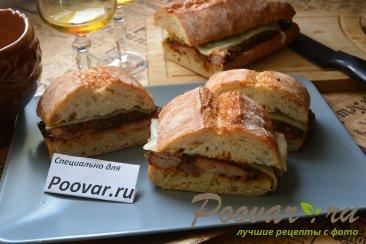 Сэндвич со свиными рёбрами и карамелизованным луком Шаг 20 (картинка)