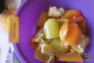 Баклажаны и перец в томатной заливке на зиму Шаг 6 (картинка)