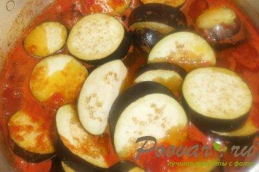 Баклажаны и перец в томатной заливке на зиму Шаг 5 (картинка)