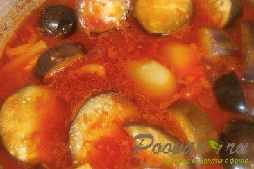 Баклажаны и перец в томатной заливке на зиму Шаг 7 (картинка)