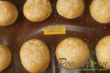 Булочки для гамбургеров Шаг 11 (картинка)