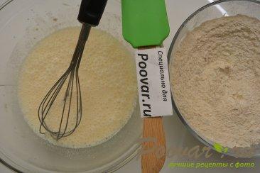 Лепёшки на кефире с сыром и укропом Шаг 4 (картинка)
