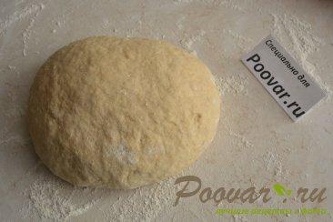 Лепёшки на кефире с сыром и укропом Шаг 6 (картинка)
