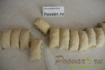 Лепёшки на кефире с сыром и укропом Шаг 12 (картинка)