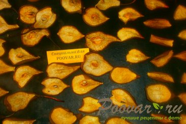 Сушка груши в духовке Шаг 8 (картинка)