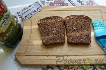 Бутерброды с авокадо и красной рыбой Шаг 1 (картинка)