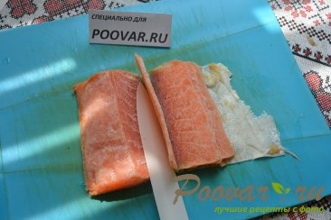 Бутерброды с авокадо и красной рыбой Шаг 7 (картинка)