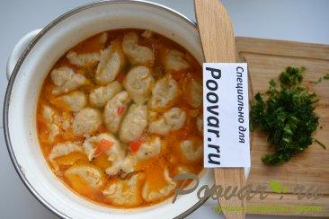 Куриный суп с клецками Шаг 14 (картинка)