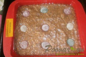 Шоколадный пирог с яблоками и маком Шаг 8 (картинка)
