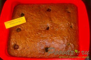 Шоколадный пирог с яблоками и маком Шаг 9 (картинка)