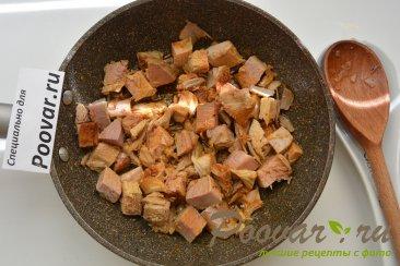 Фасоль с мясом и грибами Шаг 1 (картинка)