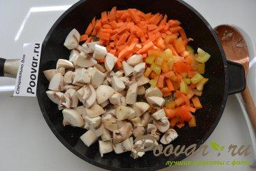 Фасоль с мясом и грибами Шаг 3 (картинка)