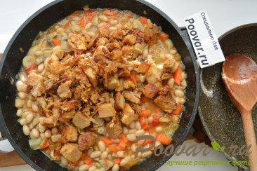 Фасоль с мясом и грибами Шаг 7 (картинка)