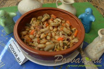 Фасоль с мясом и грибами Шаг 9 (картинка)