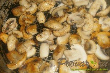 Мясные кексы с грибами и сыром Шаг 2 (картинка)