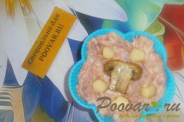 Мясные кексы с грибами и сыром Шаг 8 (картинка)